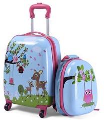 COSTWAY Equipaje Infantil de Viaje